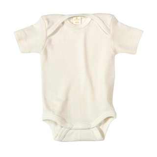 Living Crafts Baby-Body Baumwolle 1/4 Arm 1St.
