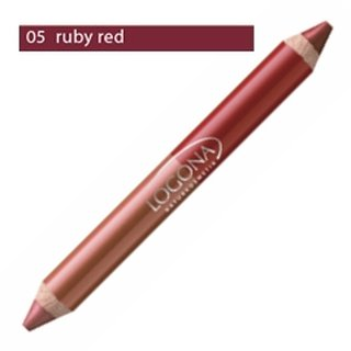 Logona Double Lip Pencil No. 05 - ruby red 1 St.