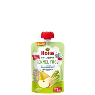Holle Pouchy - Fennel Frog 100g