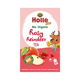 Holle Bio Rose Reindeer Tea 20x2,2g
