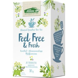 Allos Feel Free & Fresh 20x1,5g