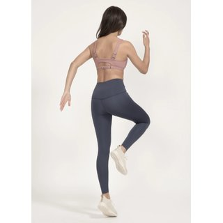 Boochen High-Waist Leggings in Midnight Blue